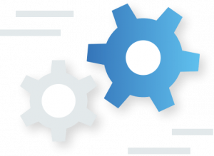 Spinning wheels icon